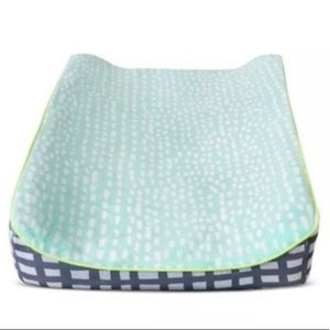 Target Oh Joy Mint Dash changing pad cover